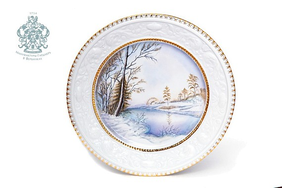 "Dish Wall ""First Snow"""