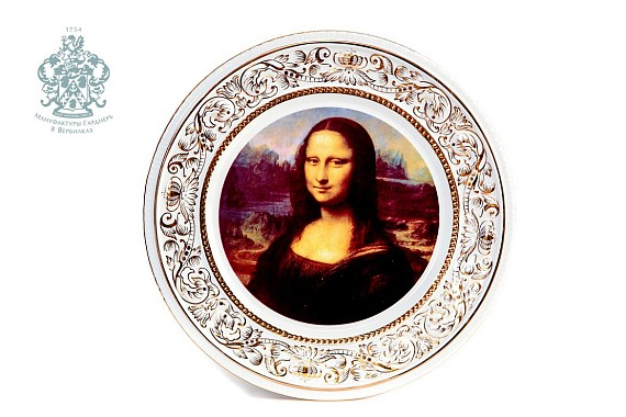 "Dish on the wall ""Gioconda"""