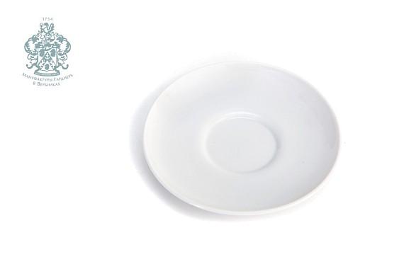 Блюдце кофейное ф 88. Белое
