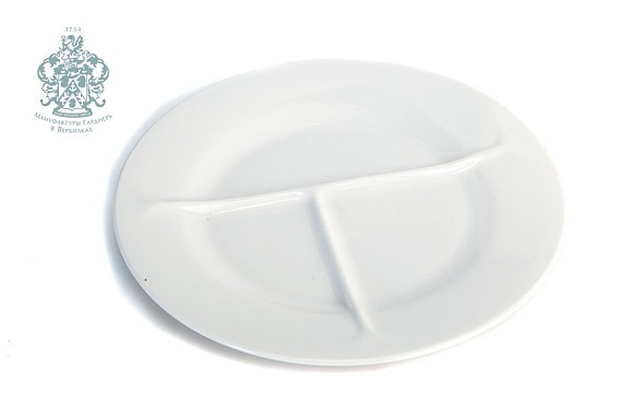 Separating plate. White