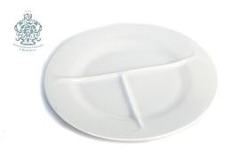 Разделительная тарелка. Белая