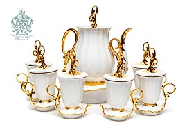 "Coffee set ""Snow White"""