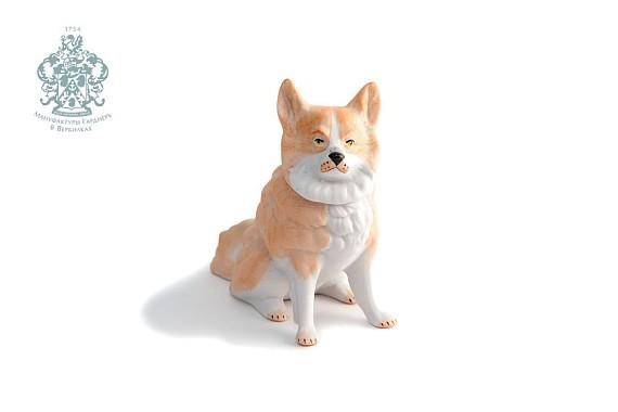 """Шкатулка """"Собака рыжая"""""""