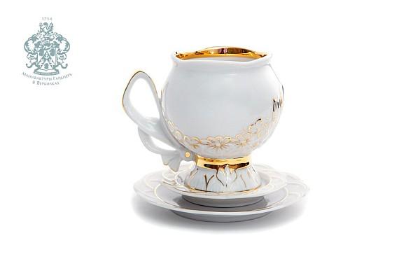 "Tea pair n / 3 ф Gift set Bow ""Pozolota"""