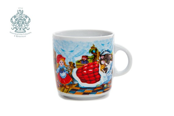 "Children's mug ""Little Red Riding Hood"""
