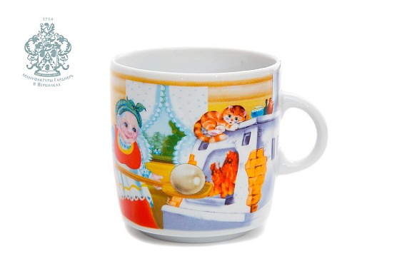"Children's mug ""Chicken ryaba"""