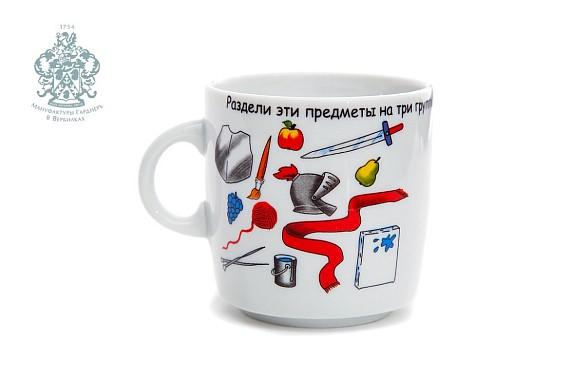 """Children's mug """"Puzzles"""""""