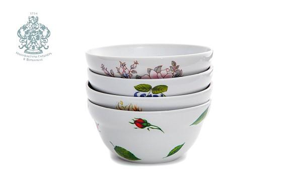 """Salad bowl """"White lily"""""""
