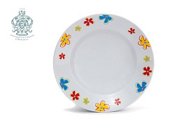 "Plate ""Flower bardure"""