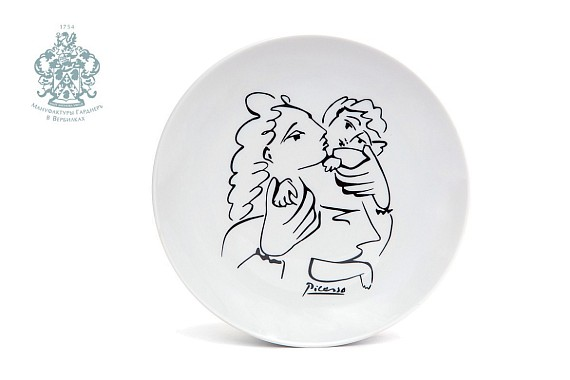 "Plate ""Mother and Child"""