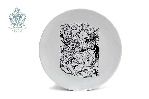 "Plate ""The explosion of Raphael's head"""