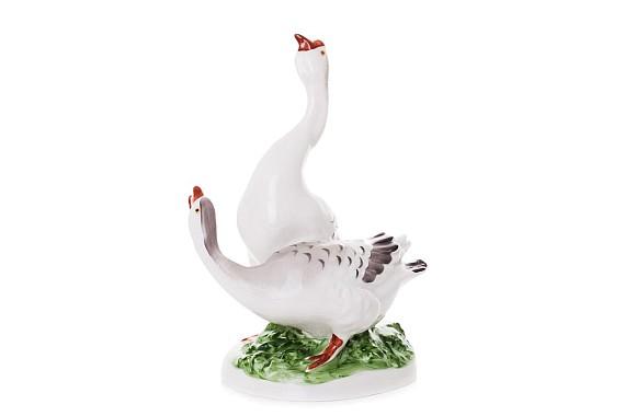 """Sculpture """"Geese"""""""