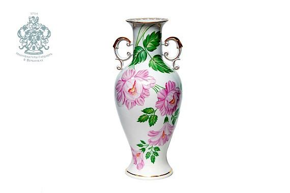 "Vase ""Peony"" (watercolor)"