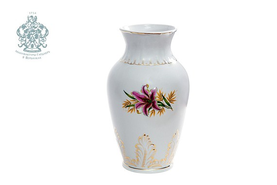 """Vase """"The Pink Lily"""""""