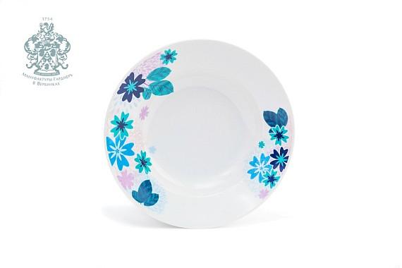 """Тарелка """"Зимние цветы"""""""