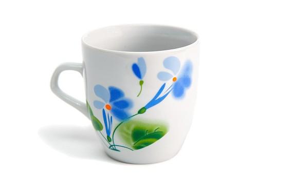 "Mug ""Flax and Clover"""