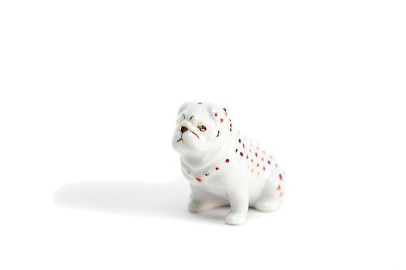 "Sculpture ""Dog Pug"""