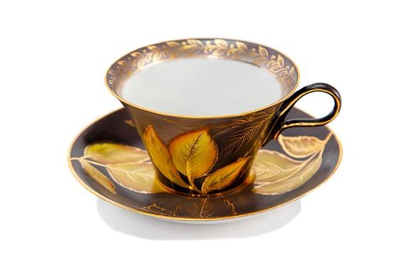 """Чайная пара """"Осенний лист"""""""