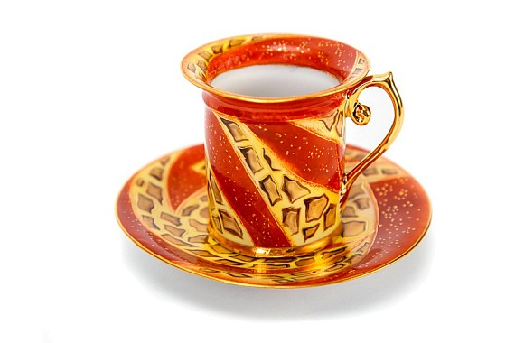 "Coffee pair ""Safari"""