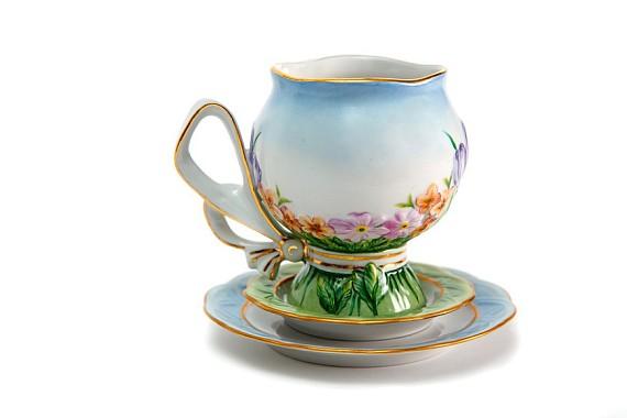 """Чайная пара """"Первоцветы"""""""