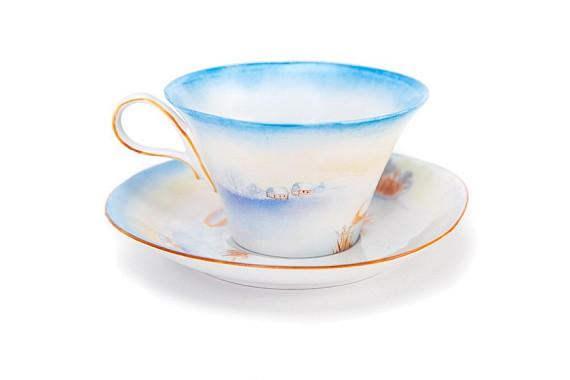 "Tea pair ""Khutorok""."