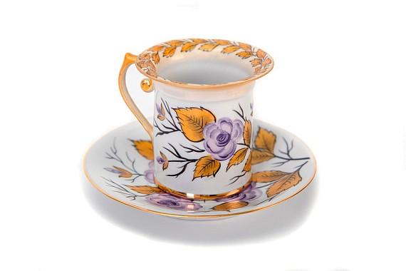 """Coffee pair """"Autumn Rose"""" Franz Gardner"""