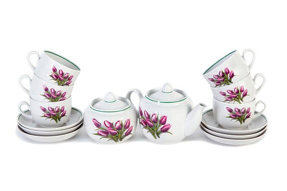 "Tea set ""Tulip""."