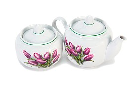 "Tea set ""Tulip""."
