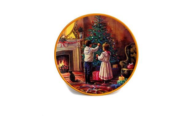 """Plate 190 """"Festive mood"""""""