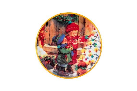 """Plate 190 """"Christmas"""""""