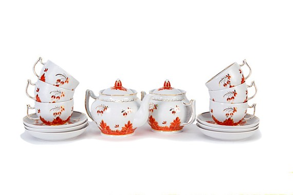 "Tea set ""Barbaris""."