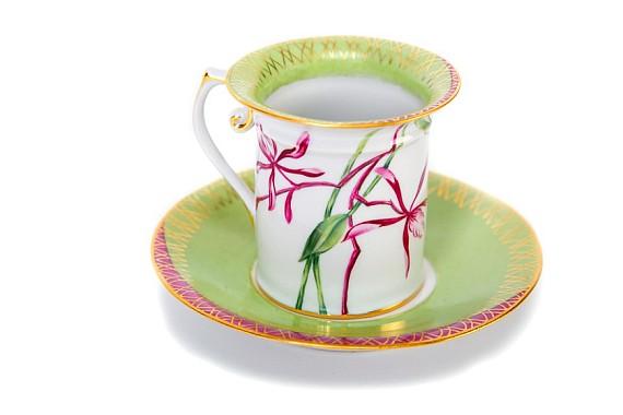 """Кофейная пара """"Орхидея"""""""
