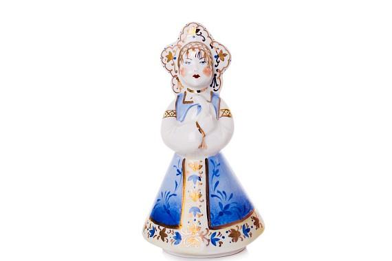 "Sculpture ""Katyusha"" in a blue sarafan"