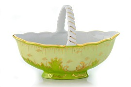 "Candy bowl ""Emerald"""