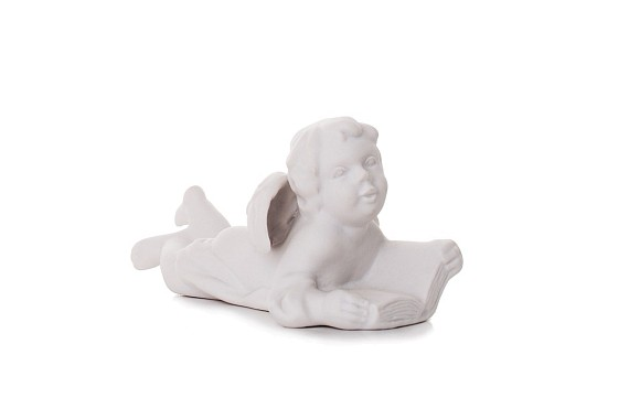 "Sculpture ""Angel reading"""