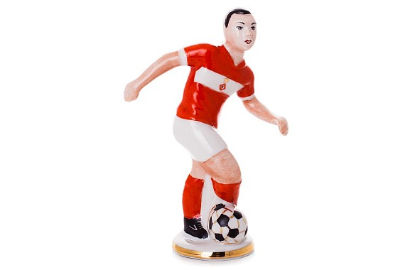 "Sculpture ""Footballer"""
