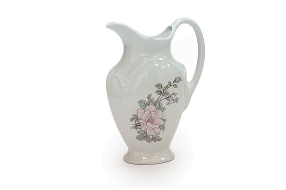 Jug, fontanel shape, Contessa decor (decal)