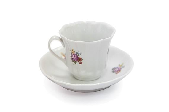Кофейная пара, форма Сувенирная, декор (деколь)