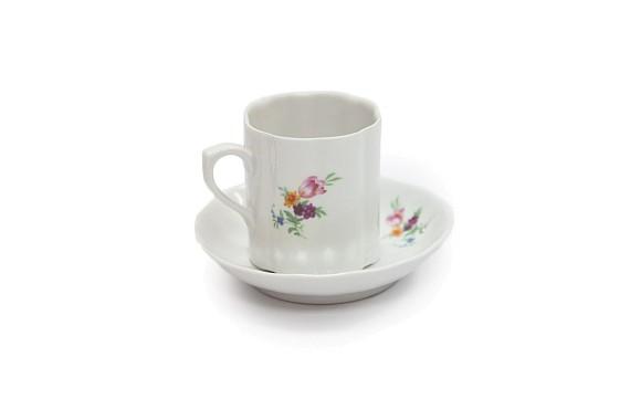 Coffee pair, souvenir shape, decor (decal) Mix