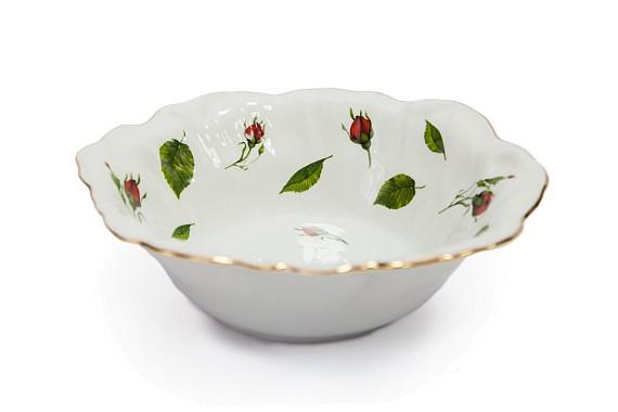 Салатник форма Декоративный,декор Бутоны раскидные