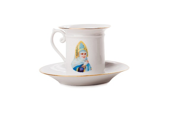 "Coffee steam ""Boyarynya in kokoshnike"""