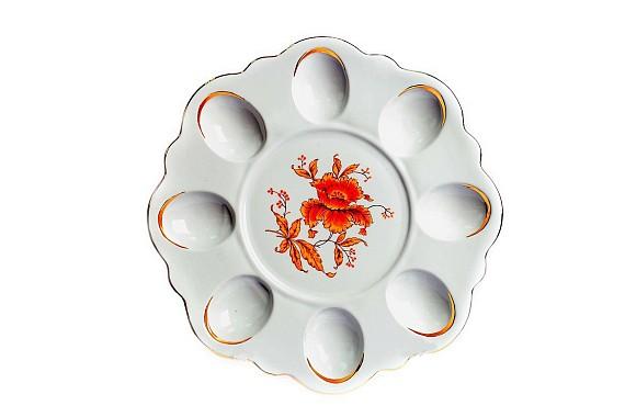 Easter dish Golden flower
