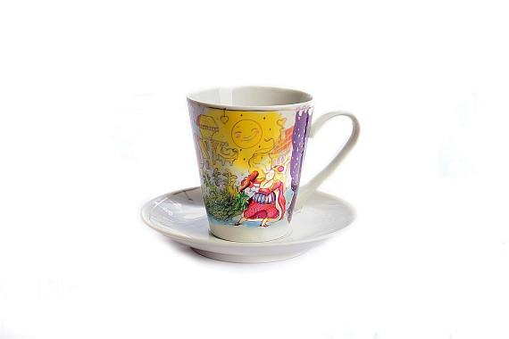 Чашка с блюдцем Андерсон