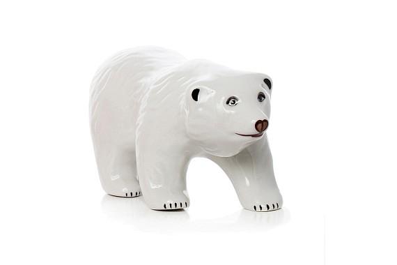 """Скульптура """"Медведь белый"""""""