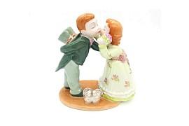 Первый поцелуй (в зеленом)