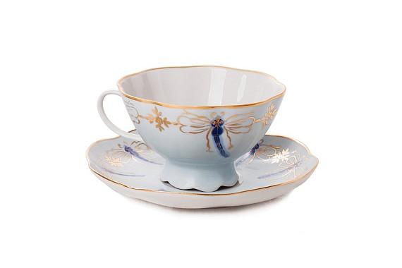 "Tea pair ""Dragonflies"""