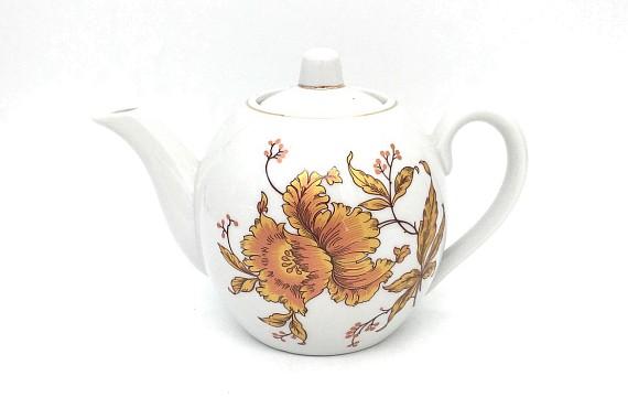 Чайник 800 Клапан-золотой цветок