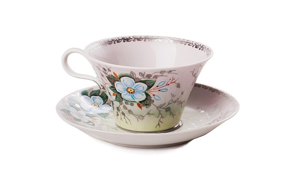 "Tea pair ""The Breath of Spring""."