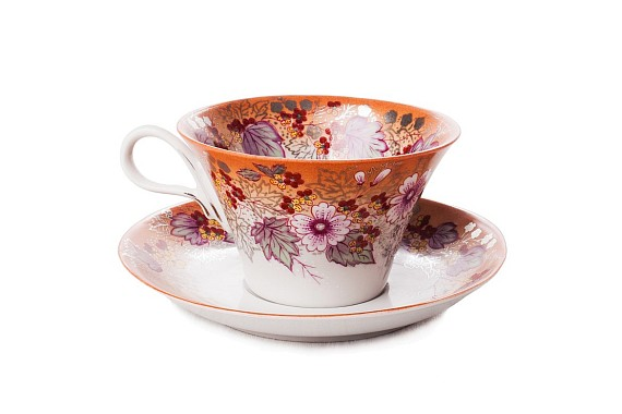 """Tea pair """"Breath of autumn""""."""