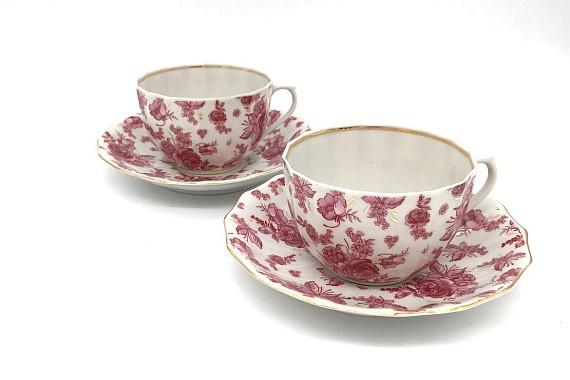 Чай вдвоем 2/4 ф 75  Астра розовая